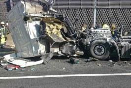 Erneut schwerer LKW-Unfall auf der A2 bei Bad Eilsen