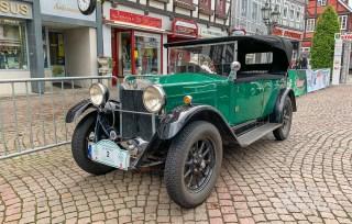 17 rintelnaktuell oldtimer weserbergland fahrt 2019 auto motorrad historisch rinteln innenstadt adac motor club