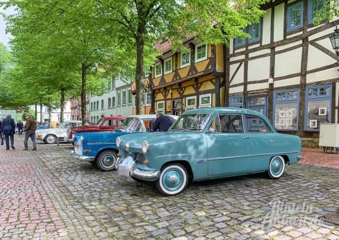 26 rintelnaktuell oldtimer weserbergland fahrt 2019 auto motorrad historisch rinteln innenstadt adac motor club