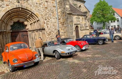 30 rintelnaktuell oldtimer weserbergland fahrt 2019 auto motorrad historisch rinteln innenstadt adac motor club