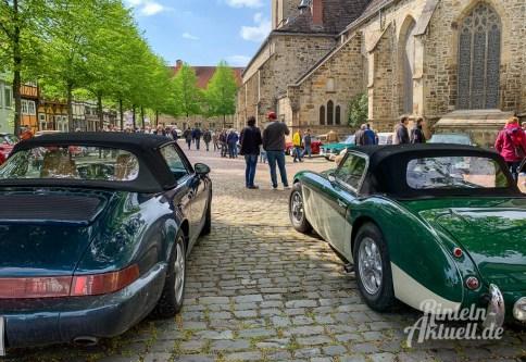 36 rintelnaktuell oldtimer weserbergland fahrt 2019 auto motorrad historisch rinteln innenstadt adac motor club