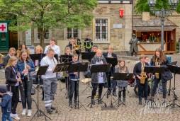 02 rintelnaktuell rintelner maimesse 2019 karussell fahrgeschaefte kirmes altstadt innenstadt jahrmarkt tradition