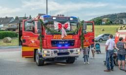 12 rintelnaktuell feuerwehr unter der schaumburg deckbergen geraetehaus einsatzfahrzeug uebergabe 22.6.2019