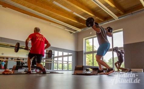 33 rintelnaktuell kerlgesund maennersporttag bkk24 kreissportbund ksb fitness modern arnis bootcamp kanu klettern bewegung aktion 22.6.19