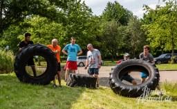 40 rintelnaktuell kerlgesund maennersporttag bkk24 kreissportbund ksb fitness modern arnis bootcamp kanu klettern bewegung aktion 22.6.19