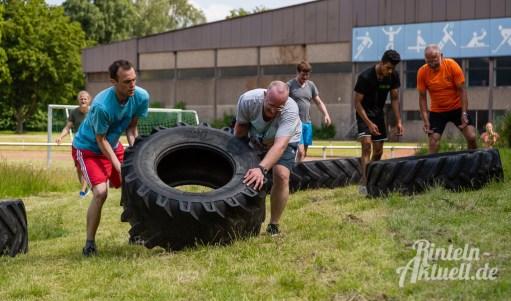 46 rintelnaktuell kerlgesund maennersporttag bkk24 kreissportbund ksb fitness modern arnis bootcamp kanu klettern bewegung aktion 22.6.19
