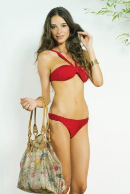 Vintage Scarlet Bikini