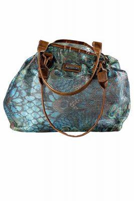 Peacock Beach Bag