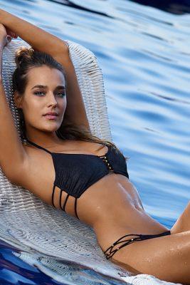 Onyx Braided Zen Bikini