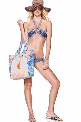 Floral Tote Bag Glam Stargazers Bikini