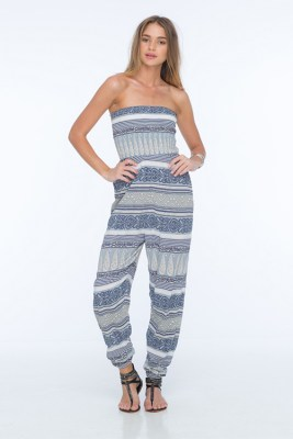 Blue Rajasthan Java Jumpsuit