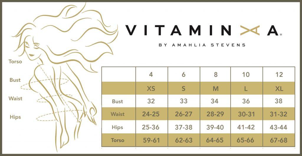 Vitamin A Size Guide