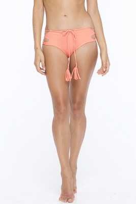 Grapefruit Kylie Side Lace Bottom