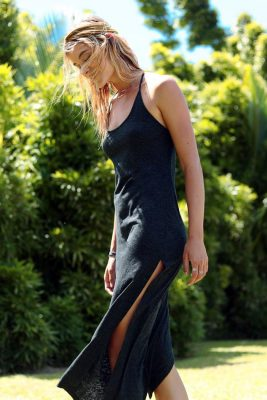 Charcoal After Midnight Dress LIF by L*Space
