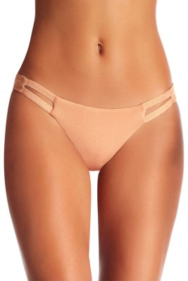 Rose Gold Metallic Neutra Hipster Bottom