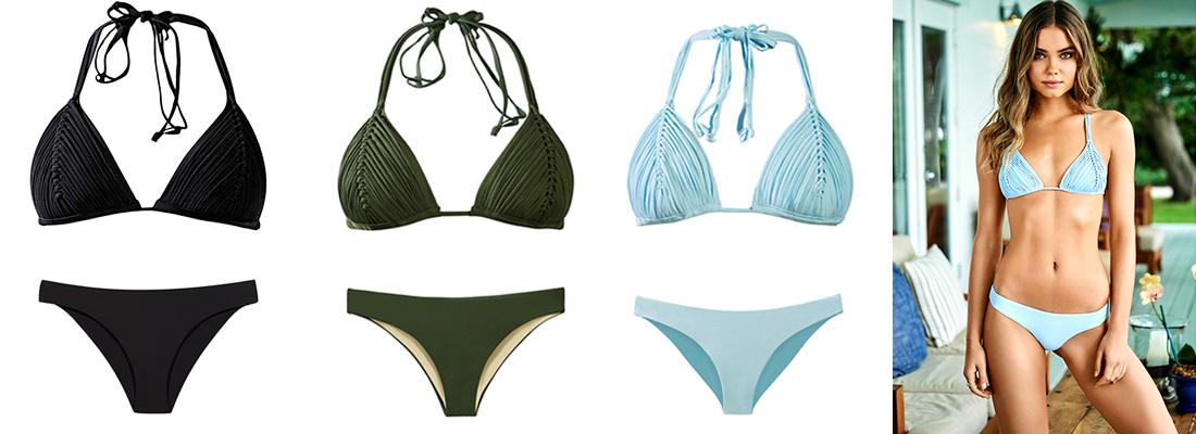 Pick a Color PilyQ Isla Bikini Top