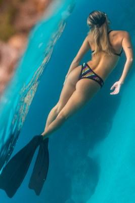 Rio Stripe Shout Bikini Bottom