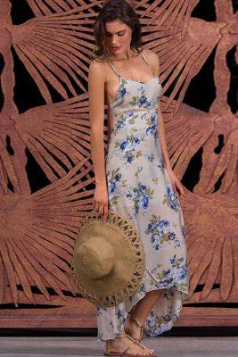 Misty Floral Maxi Dress LIF