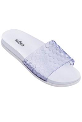 White Polibolha Slide Sandal