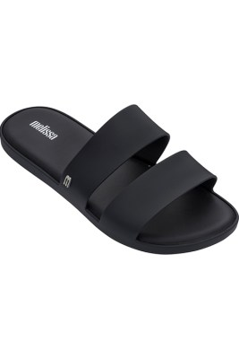 Matte Black Color Pop Sandals Melissa Shoes ALT4 32799-50481