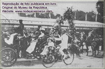 corso no Rio em 1906 | Batalha das flores