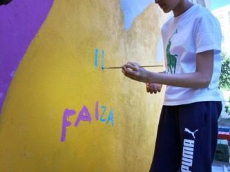 La maison de quartier du Landy, chère à Riofluo qui a ses bureaux dans le vieux Saint-Ouen, nous a permis de réaliser une fresque participative sur le thème du végétal et de la jeunesse. #graffiti #atelier #decoration #saintouen #vegetal #streetart