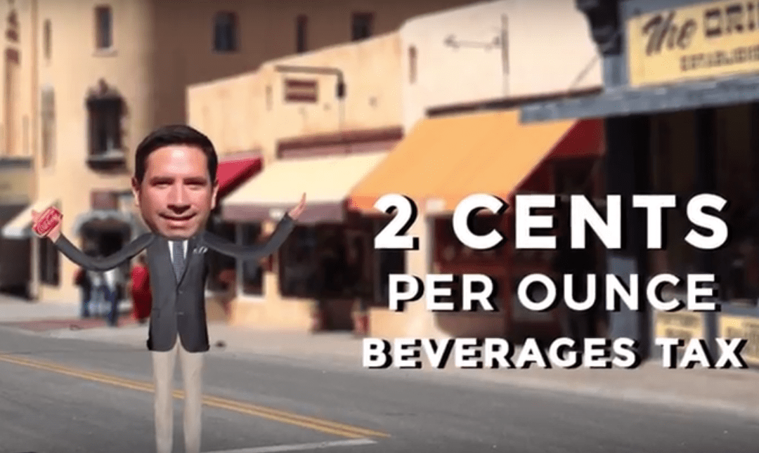 """New """"No Way"""" video outlines issues with Santa Fe soda tax"""