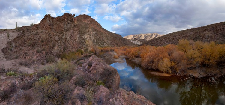 Gila River, photo by Alan Stark