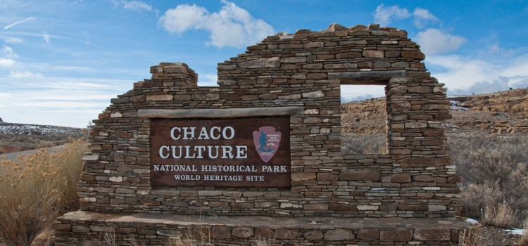 photo of entrance to chaco canyon for sierra club article on history of oil discovery in area
