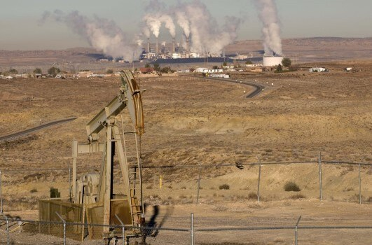 image of Oil and gas fields near Chaco
