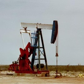 photo of oil drilling