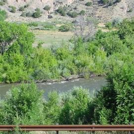 photo Rio Grande near Taos