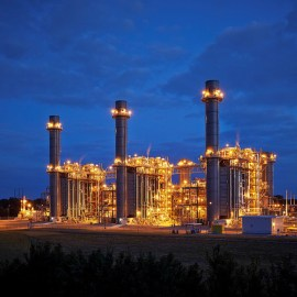 photo of natural gas plant
