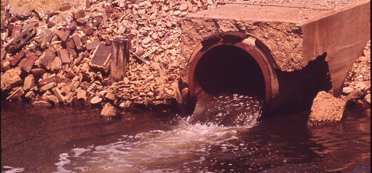 photo of surface discharge