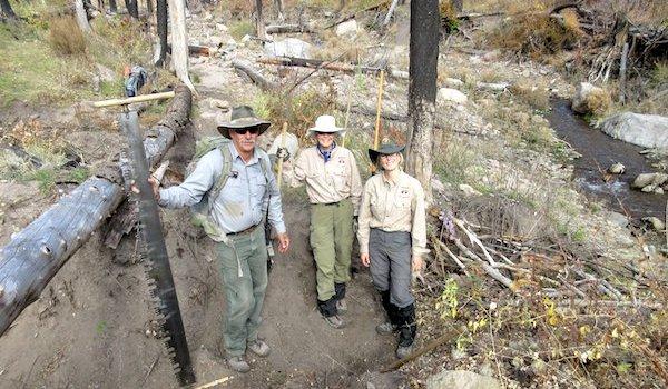 Volunteering on the Trails at Bandelier