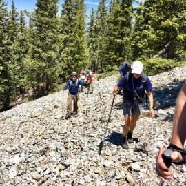 Outings report – Trampas Peak