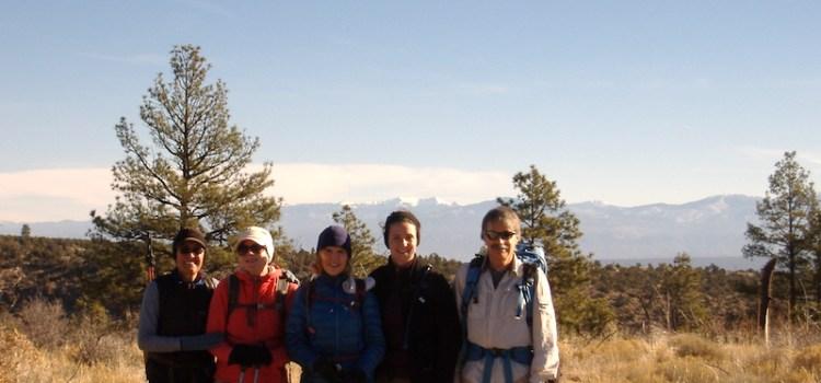 Trip report – Bandelier, January 13