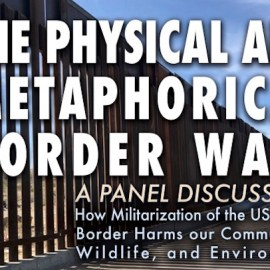 El Paso – Panel Discussion on the Border Wall