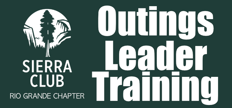Outings Leader Training – Spring 2018