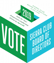 National Sierra Club Elections are Underway – VOTE!