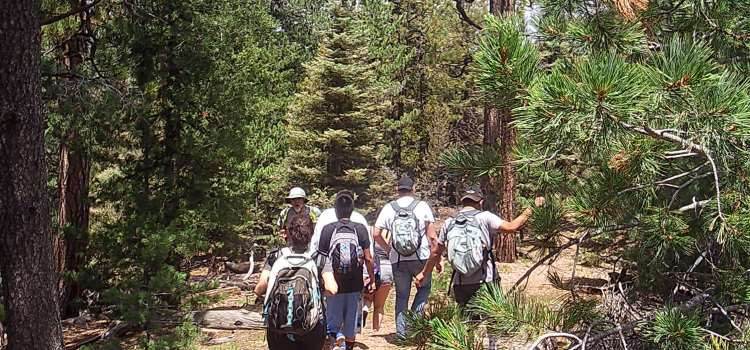 June hike with Inspiring Connections Outdoors