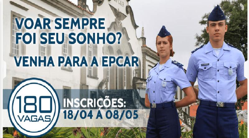 91963c583e Estão abertas as inscrições para o Exame de Admissão da EPCAR - Rio Grande  TEM