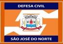 Defesa Civil realiza atendimentos em decorrência do vendaval ocorrido na madrugada de terça-feira