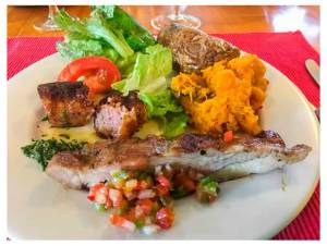 Rio Manso cuisine