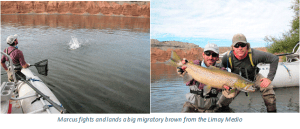 fly fishing argentina Rio Limay