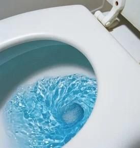 Verstopte WC riool reinigingsdienst de vos