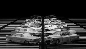 Ryoji Ikeda – A [for 100 Cars]