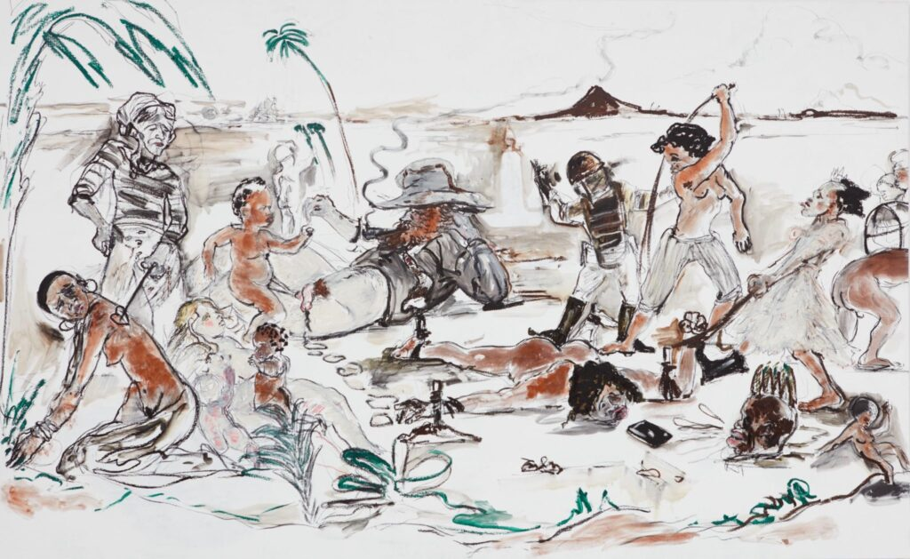 Kara Walker. A review of her latest exhibition is at Riot Material magazine