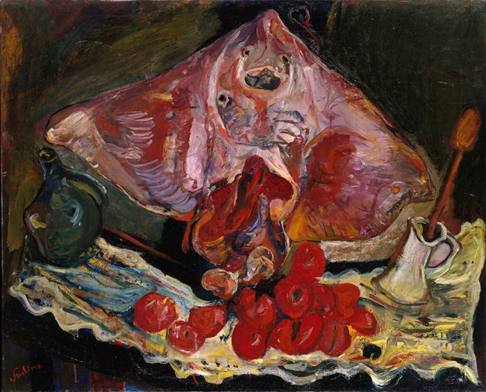 Chaim Soutine, Still Life with Rayfish, c. 1924