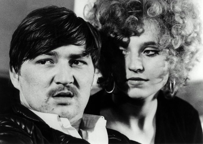 Hanna Schygulla and Rainer Werner Fassbinder in Baal